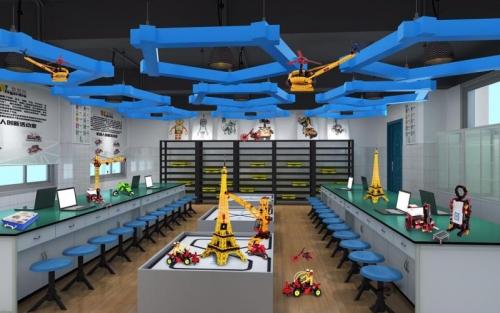 高密一中机器人实验室